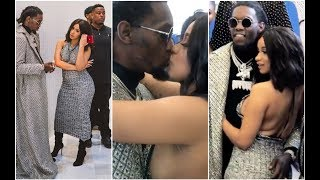 Cardi B Kisses Offset In Front Of Everyone At New York Fashion Week Show
