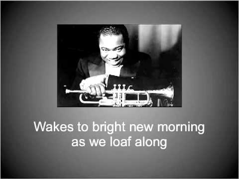 Louis Armstrong - Lazy River