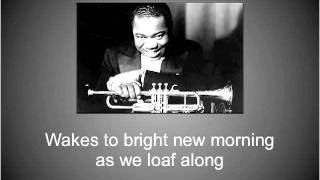 Watch Louis Armstrong Lazy River video