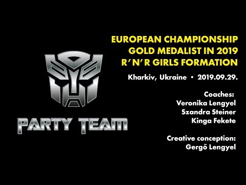 ROCK AND MAGIC SE, Hungary - Party Team girls formation - European Championship 2019