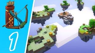 Dansk Minecraft - Skywars #01: Emil dræber Mikkel!!