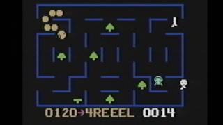 Classic Game Room HD - K.C.'S KRAZY CHASE! for Odyssey 2