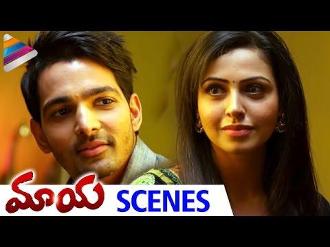 Love Making Scene | Nandini Rai & Harshvardhan Rane | Romantic Scene of The Day | Maaya Telugu Movie