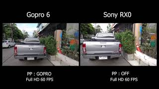 Gopro 6 Hero VS Sony RX0