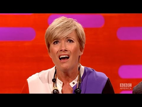 EMMA THOMPSON Flashed Her Saving Mr. Banks' Costars - The Graham Norton Show on BBC AMERICA