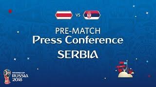 FIFA World Cup™ 2018: Costa Rica - Serbia: Serbia Pre-Match PC