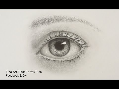 How to Draw a Realistic Eye - With Pencil