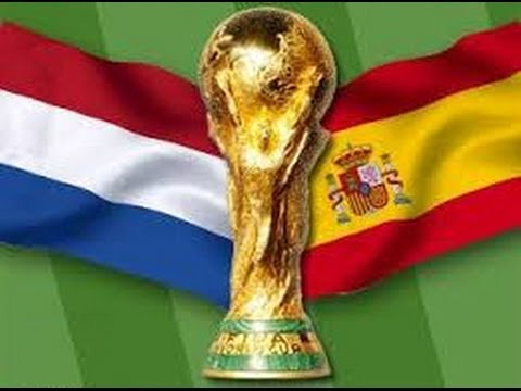 World Cup 2010 Netherlands - Spain Final Match First Half Full