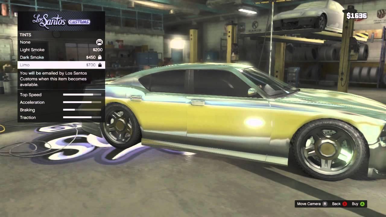 Gta Chrome Car Gta v Car Customization