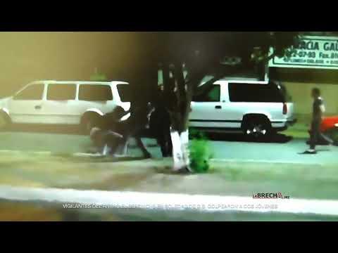 Vigilantes de El Berrinche en Soledad de GS golpean a dos jóvenes