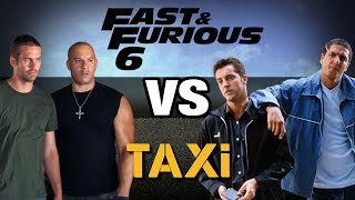 Fast and furious 6 vs taxi - wtm