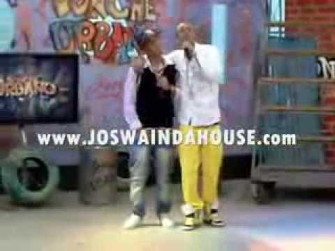 Joswa In Da House BESANDO A UN HOMBRE en pleno programa de TV
