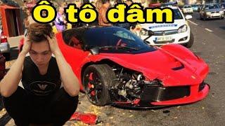 GẶP tai nạn Ô tô đâm thử lòng vợ HAMOP - PMH TROLL