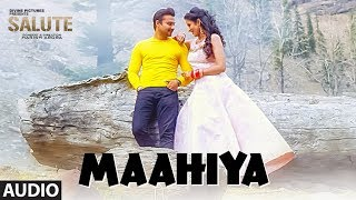 Maahiya (Full Audio Song) Mannat Noor, Sanj V| Salute| Nav Bajwa, Jaspinder Cheema, Sumitra Pednekar