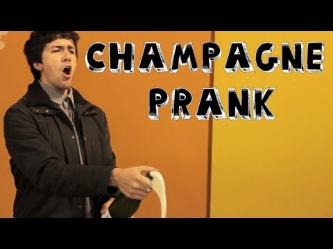 Prank - Champagne Celebration