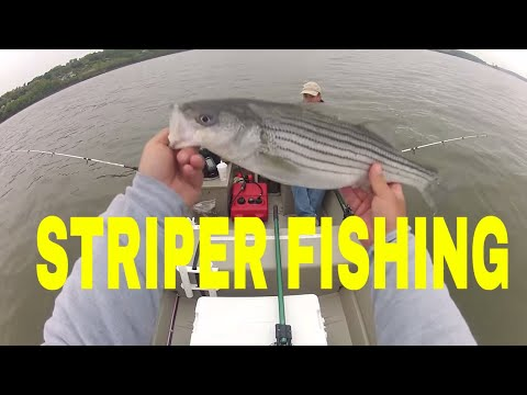 Hudson River Striper fishing 5-2-2012 Newburgh NY