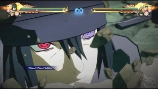 Naruto Ultimate Ninja Storm 4 : Sasuke Uchiha MOVESET The Last Movie Awakening!