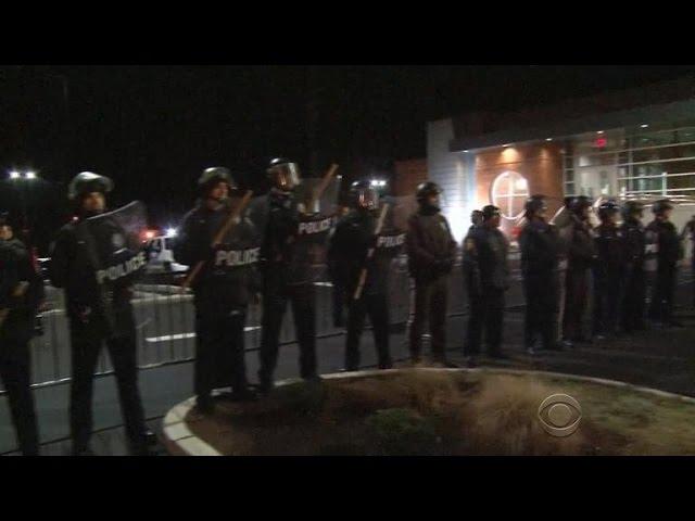 Tensions rise in Ferguson ahead of jury decision
