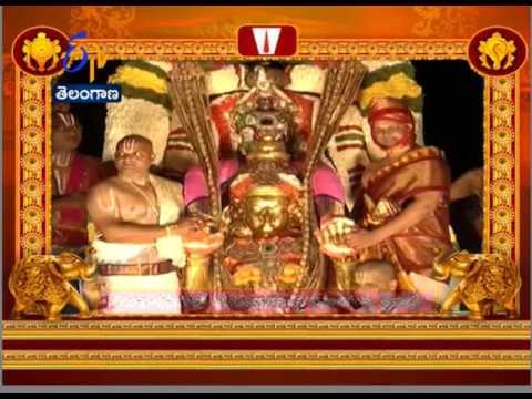 Tirumala Brahmotsav; Lord Balaji Perambulating On Garuda Seva