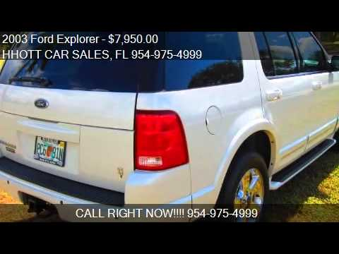 2003 Ford Explorer for sale in Deerfield Beach, FL 33073 at