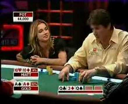 Shana Hiatt vs Jamie Gold / Poker Equalizer PRO-AM