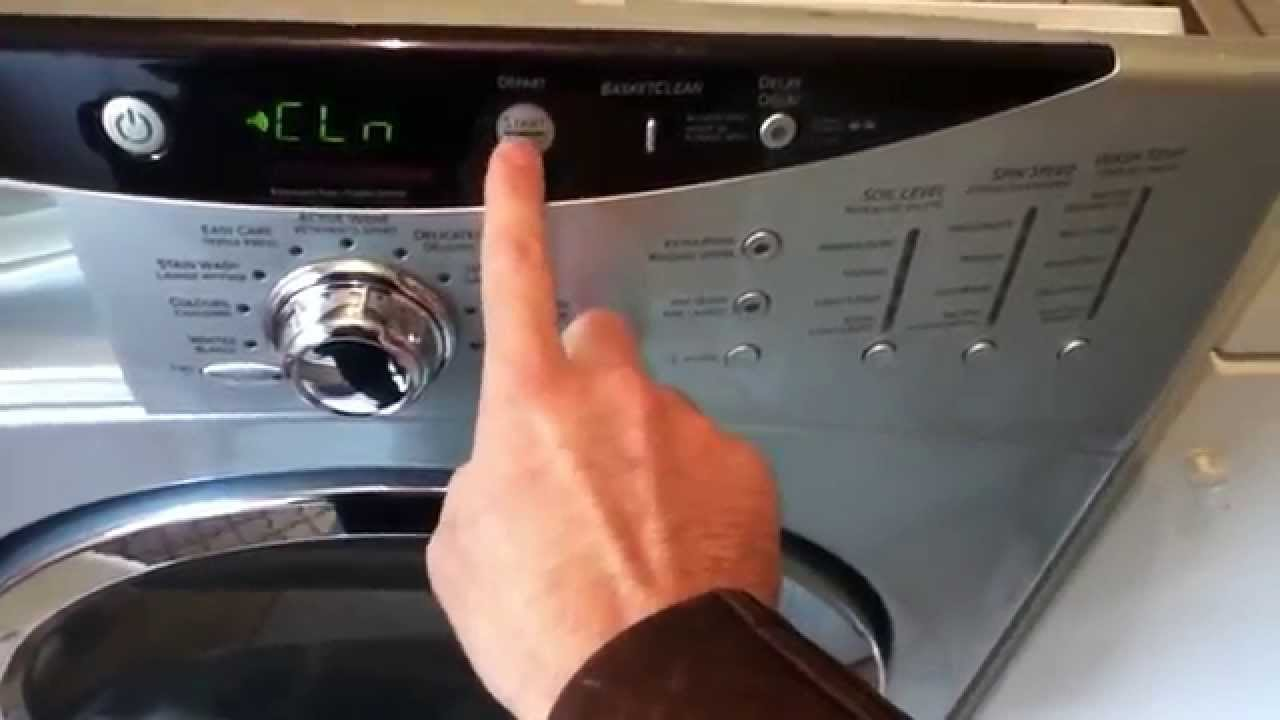 Misbehaving Start Button On Ge Front Load Washer Youtube