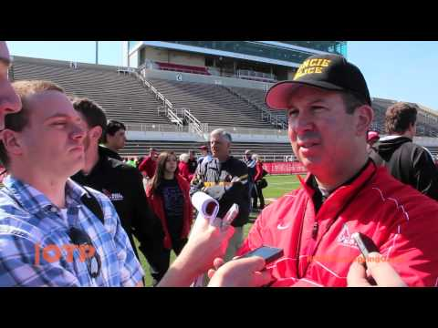 Join Alan R. and Jason B. as they tackle the Ball State football Spring Game. Players made plays and we got a chance to talk with Coach Lembo about how the players have been progressing. ...