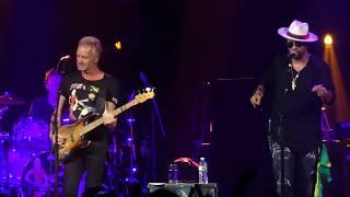 """Waiting for the Break of Day"" Sting & Shaggy@Fillmore Philadelphia 9/20/18"