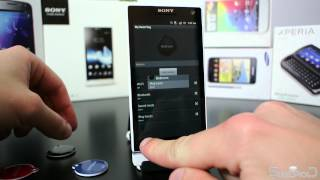 Sony Xperia S Xperia SmartTags / NFC demo - Swedroid.se
