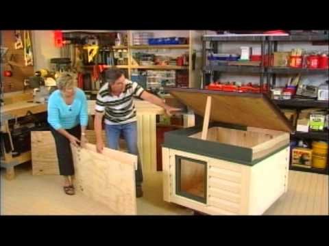 How To Build An Insulated Dog House Youtube
