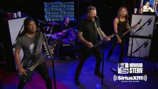 """Metallica """"Master of Puppets"""" Live on the Howard Stern Show"""