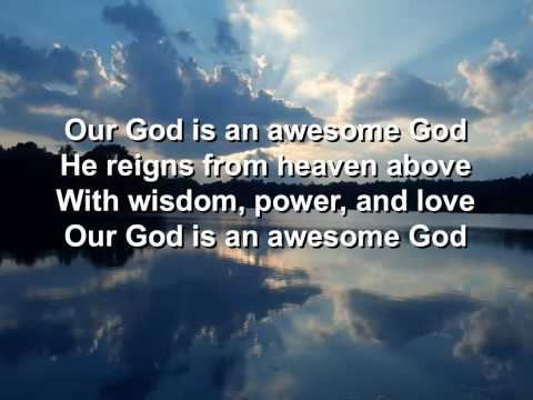 Awesome God - Rich Mullins - Lyrics - Hq video