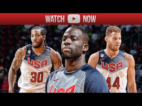 2015 Team Usa Basketball Showcase Highlights White Vs Blue Best
