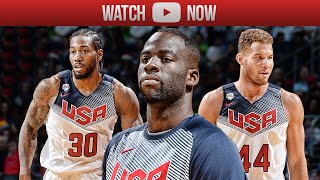 2015 Team USA Basketball Showcase Highlights White vs Blue - Best Plays, Dunks & Moments (HD)