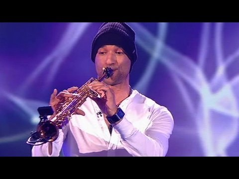 Julian Smith on Saxophone: All By Myself - Britain's Got Talent 2009 - Semi-Final 4