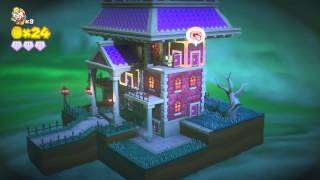 Captain Toad: Treasure Tracker ~ Episode 1 - Level 16: Bizarre Doors of Boo Mansion