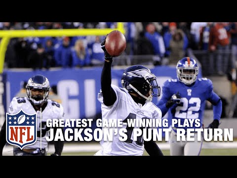 Miracle At New Meadowlands Desean Jackson S Game Winning Punt