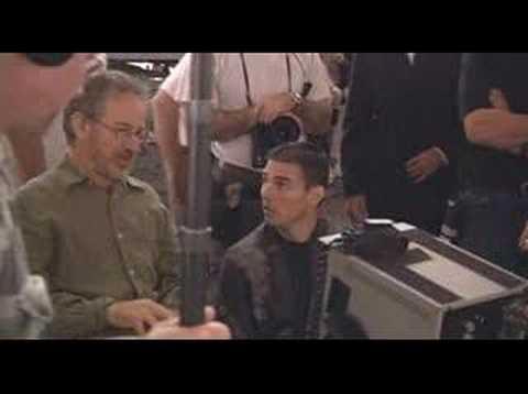 Spielberg/Cruise On Minority Report