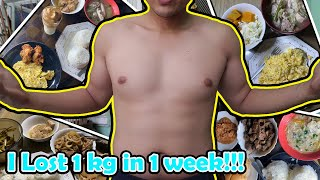 I Only Ate ONE MEAL A DAY for a WEEK!!! | OMAD DIET 7 Days RESULT! | I LOST 1kg in 1 week!!!