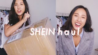 $374 on SHEIN Clothing! Try-On Fashion Haul + First Impressions | C&C