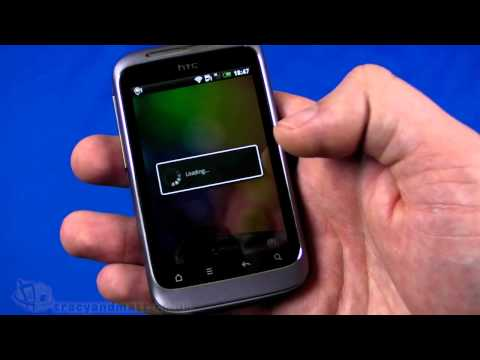 HTC Wildfire S unboxing and demo video