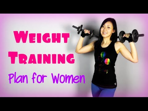 Full Weight Training Plan for Women Image 1