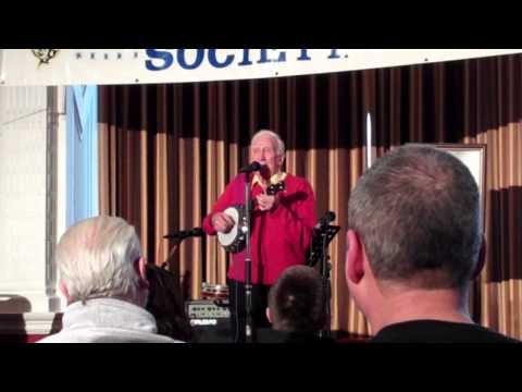 Fred Martindale performs at the March 2013 George Formby Society convention