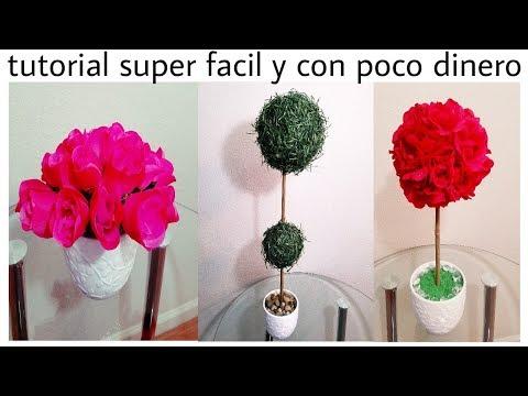 3 decoraciones bonitas y baratas..tutorial