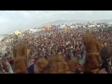 Burning Man 2014- A Bear