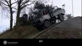 Unimog Special Forces Logistic Platform Carat Defense Belgium Belgian Defense Industry.avi