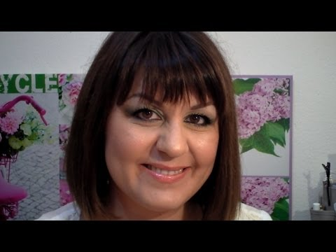 Μακιγιάζ για καστανά μάτια!!Full face make up tutorial for brown eyes!