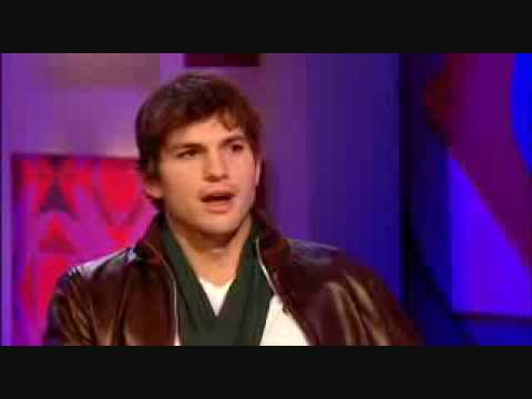 (HQ) Ashton Kutcher on Jonathan Ross 2008.04.25 (part 1)