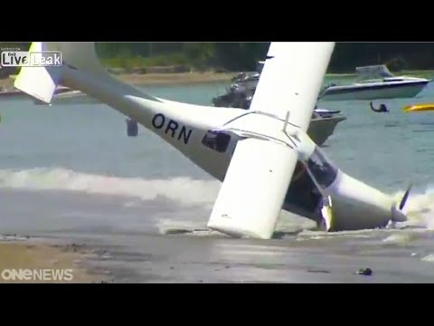 Friday Freakout: Plane Attempts Take-Off, Crashes Into Water