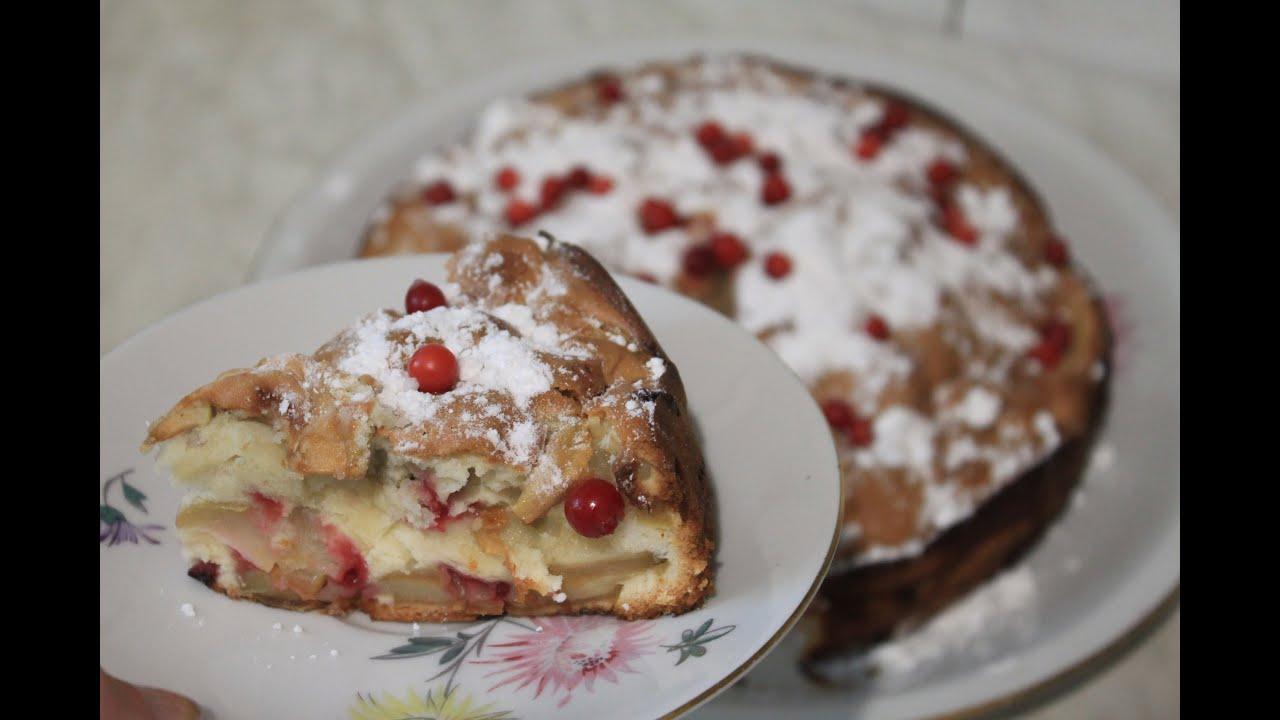 Шарлотка с яблоками в духовке: 6 рецептов пышной шарлотки 56